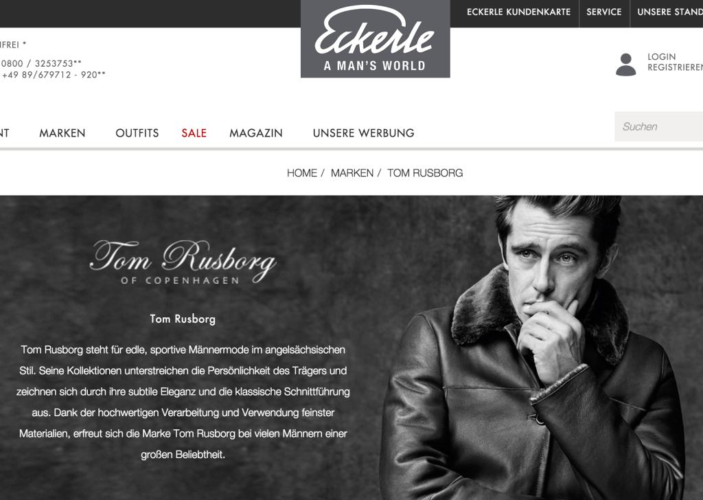 Tom Rusborg - Eckerle